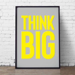 think big - what phil sees