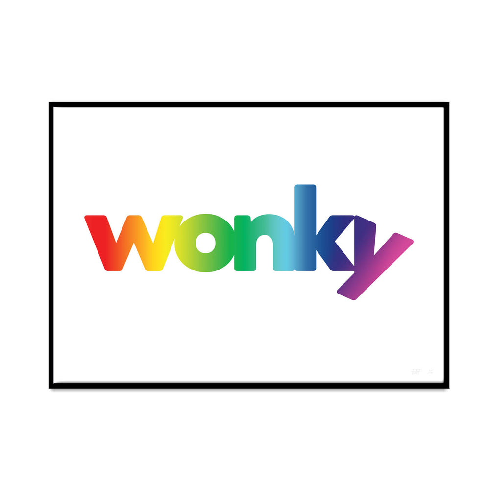 wonky (rainbow edition) - what phil sees
