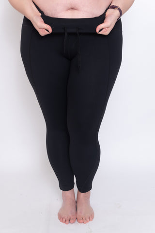SCULPT+ Soft Skin Leggings Matte Black 7/8