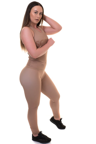 Extra High Waisted Leggings Bronze