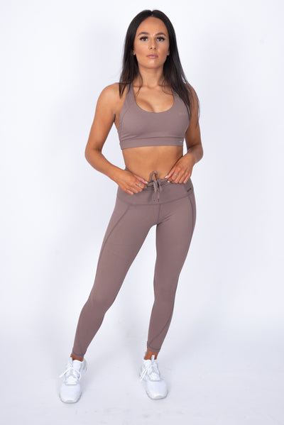 N.B High Waisted Leggings Mocha