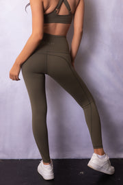 Active Lounge Leggings Forest