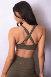 Active Lounge Sports Bra Forest