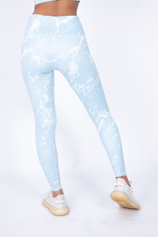Marble Ocean Leggings