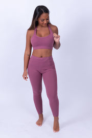Soft Skin Sports Bra Mauve Pink
