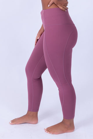 Soft Skin Leggings Mauve Pink