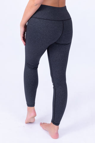 Extra High Waisted Leggings Charcoal