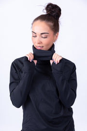 Cowl Neck Sweater Black