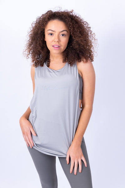 Signature Tank Top Grey