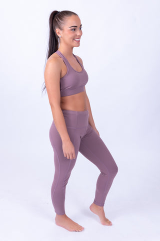 Soft Skin Leggings Lilac