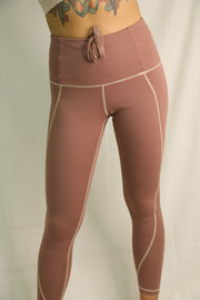 Tierra Leggings Dusty Rose