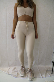 N.B High Waisted Leggings Sand