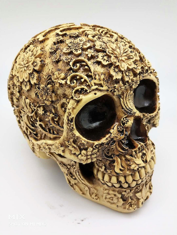 Handcrafted decoration skull