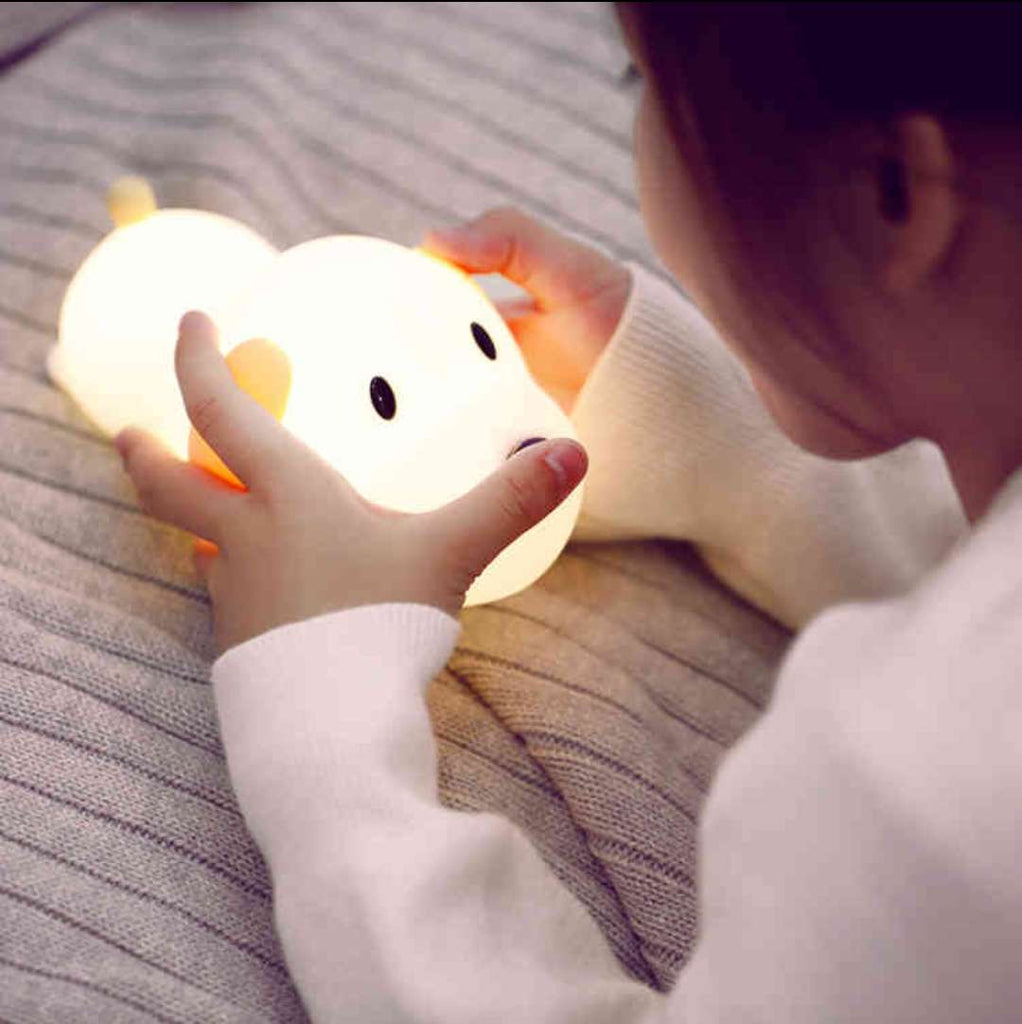 Super cute smart poppy lamp light