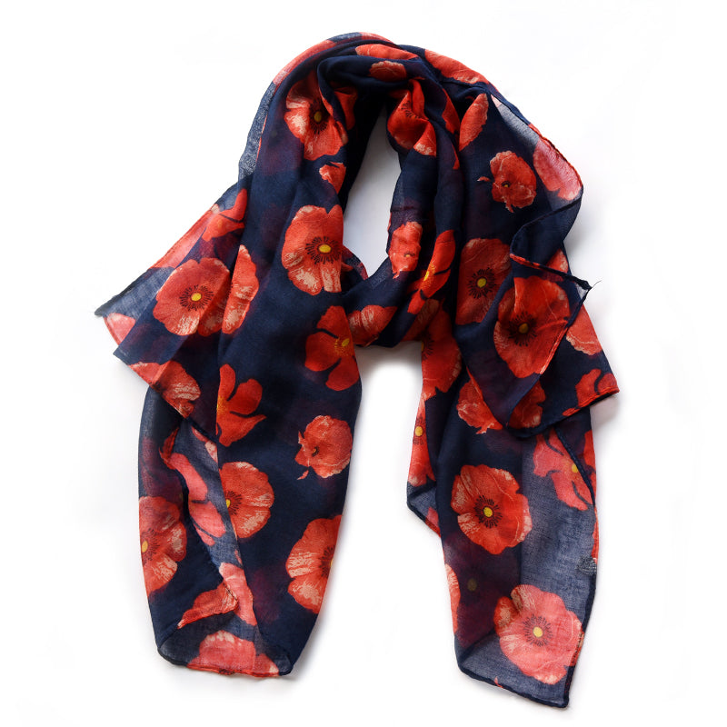 2018 New season Poppy flower scarf free coins wallet gift set with gorgeous 'lest we forget''all gave some some gave all'packaging bag