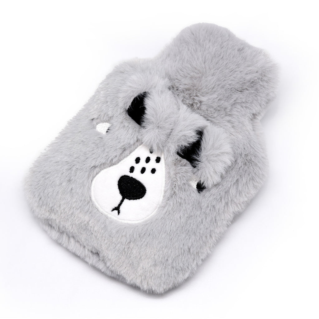 A cute super soft feather hot water bottle idea for gift to your lover buy one get mini one free