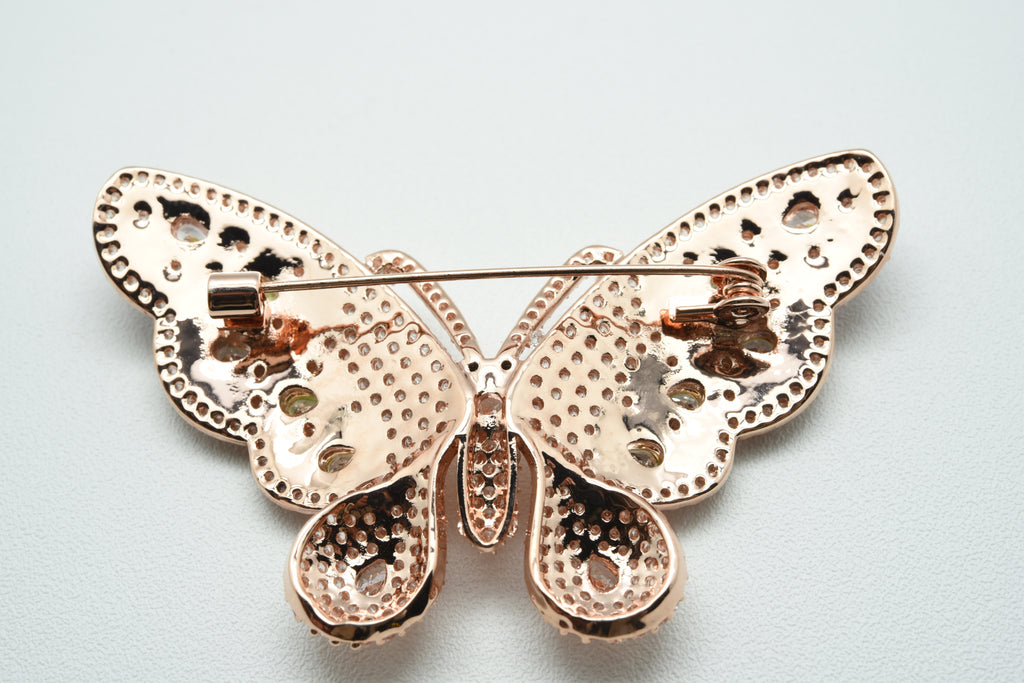 the gorgeous butterfly brooch