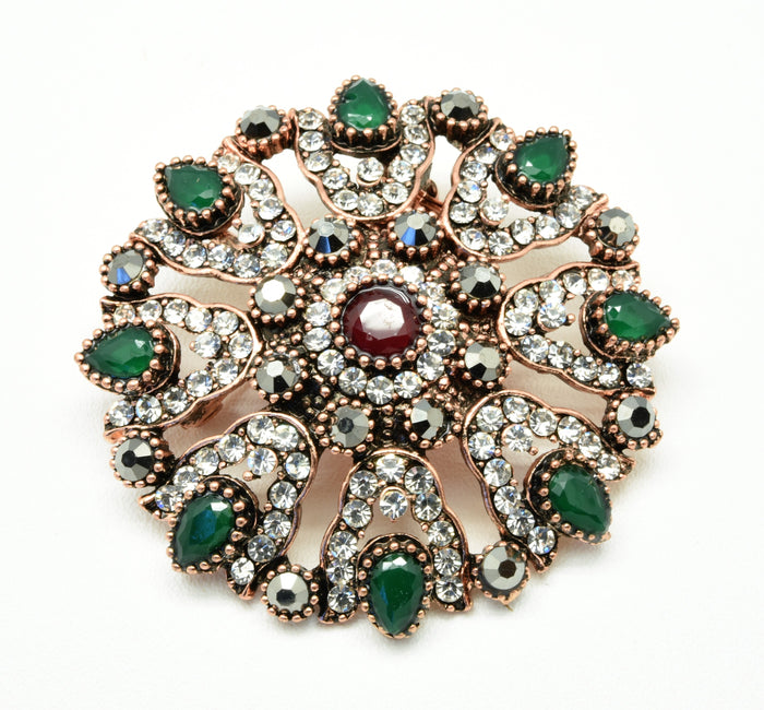 The beautiful vintage brooch