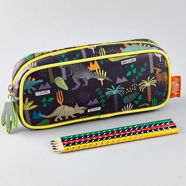 Dinosaur pencil case for boys, find the perfect gift for school starters