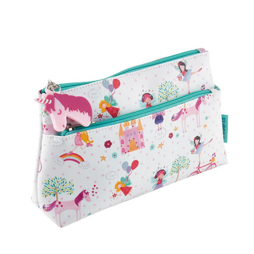 Giant Pencil Case or Toiletry Bag - Unicorn Collection