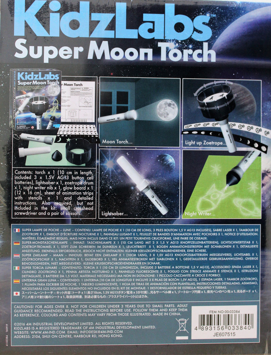 Super Moon Torch, Spooky Night Sky Writer - NEW on the market!