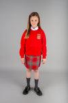 round neck sweatshirt for Largs Primary School, long lasting colours