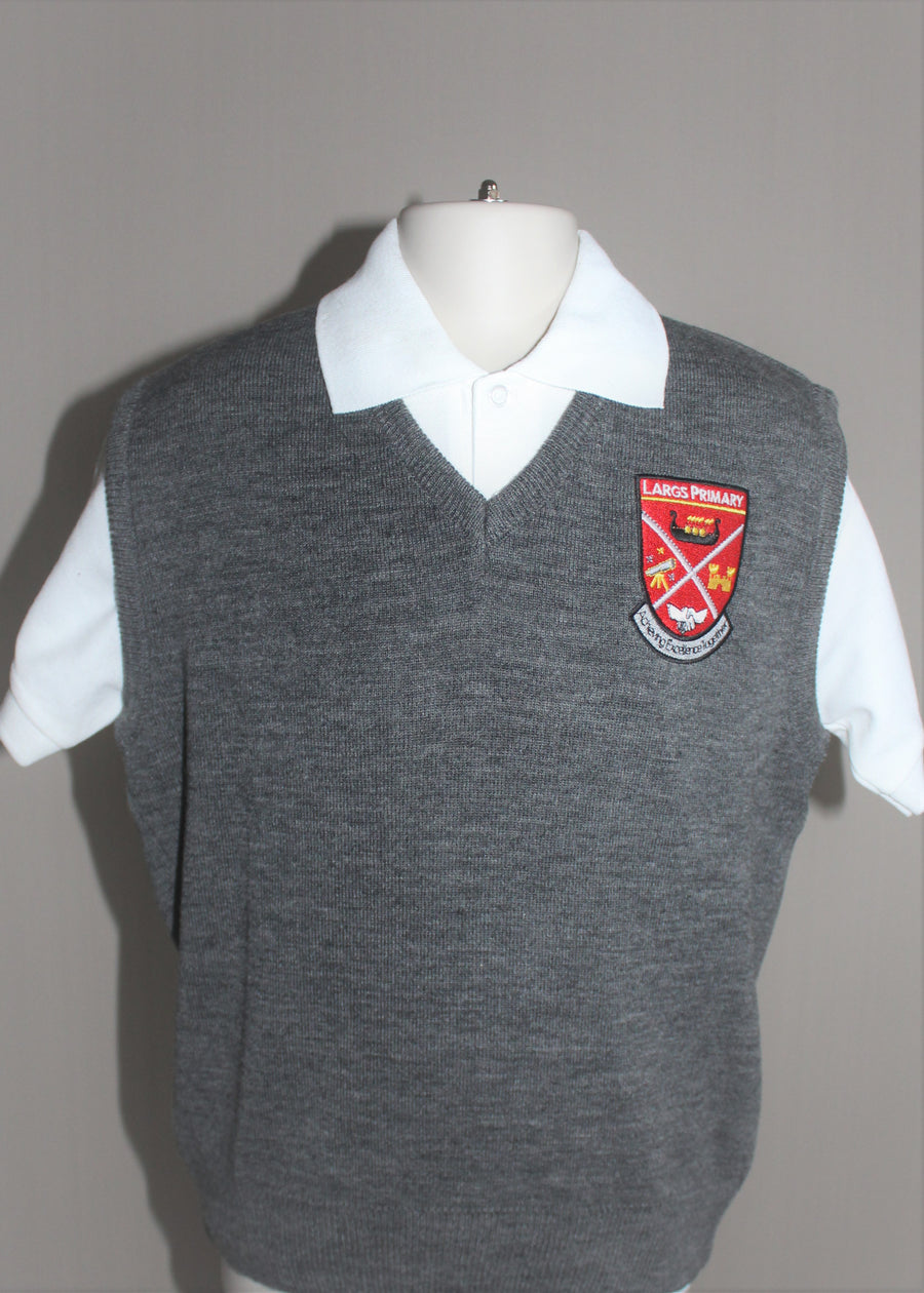 Largs Primary Slipover Tanktop Red or Grey