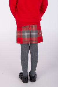 red and grey tartan school uniform for Largs Inverkip Gavinburn Glasgow Crookston Primary School cheap but high quality