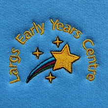 sky or royal blue nursery sweatshirts for Largs EYC uniform