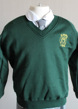 V-Neck sweatshirt for St Marys Primary School, long lasting colours