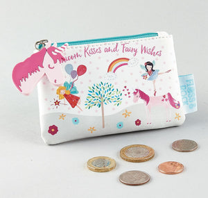 need something for a unicorn crazy girl, cute purse for money gifts