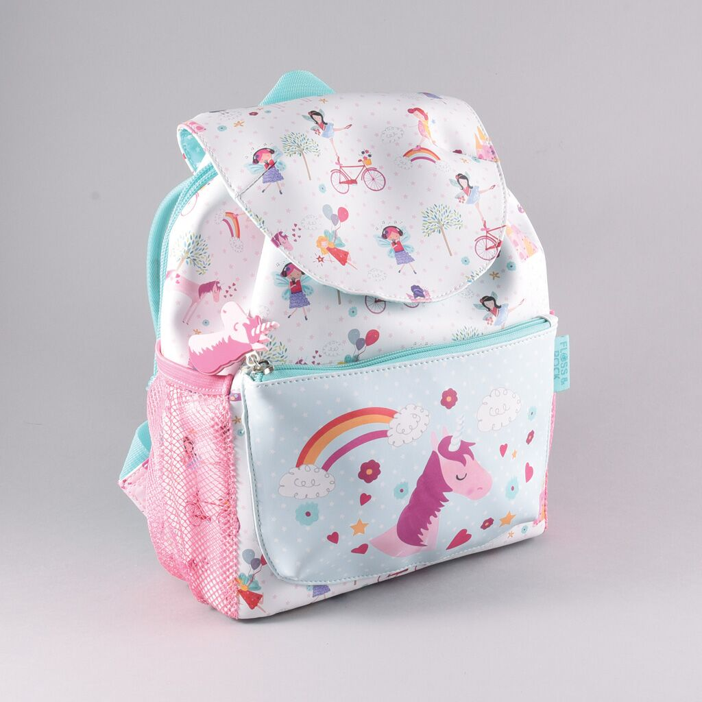 waterproof unicorn rucksack for every day at nursery school or P1, must have bag for a little princess