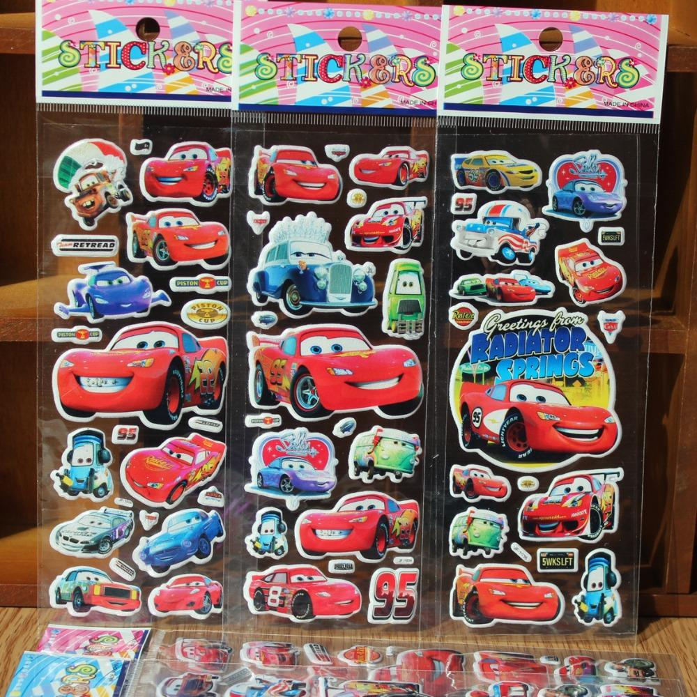 10PCS/lot 3D Carton Bubble Sticker Car Stickers Party Favor Party Supplies-Party Supplies-Shop Here Pravalia