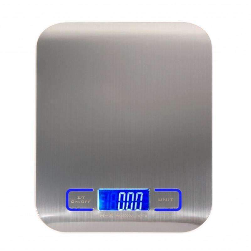 11 LB/5000g Digital Kitchen Scales Stainless Steel Electronic Balance LED Food Scales Kitchen-Kitchen Utensils ans Gadgets-Shop Here Pravalia