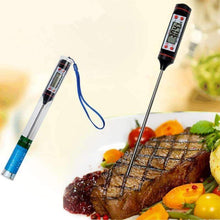 22.5CM Black Food Electronic Thermometer-Kitchen Utensils ans Gadgets-Shop Here Pravalia