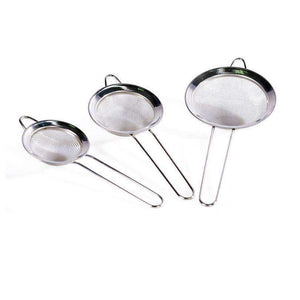 3pcs/set Skimmers Strainers Stainless Steel Cooking Tools Soup Skimmer Scoop Colander-Kitchen Utensils and Gadgets-Shop Here Pravalia