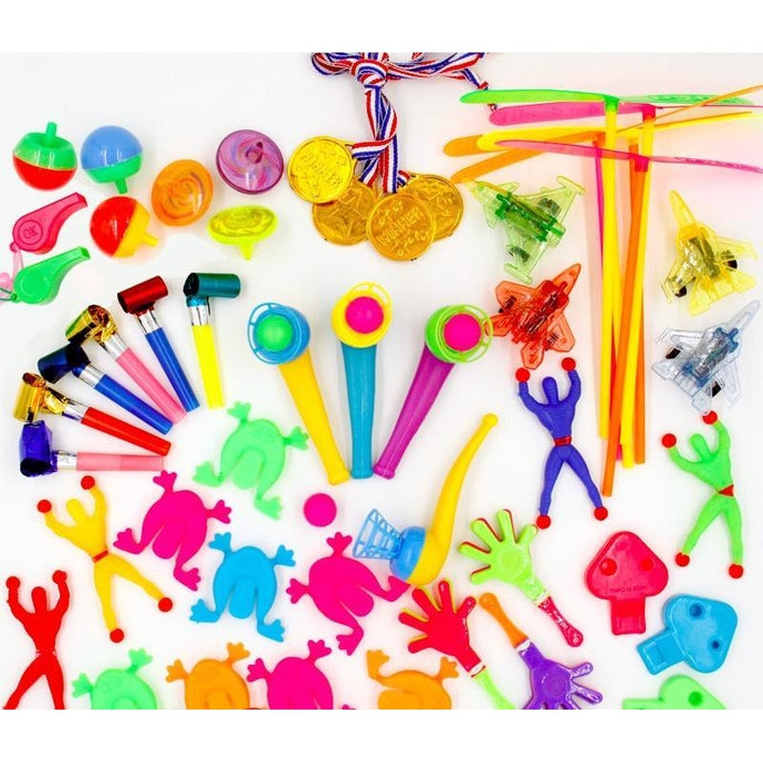 50PCS Toys For Kids Party Favors Supplies Girl Boy Birthday Gift Carnival Prizes