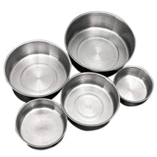 5Pcs/set Stainless Steel Crisper Sets Food Container Refrigerator Mixing Bowls Lids Preserving Box-Kitchen Utensils ans Gadgets-Shop Here Pravalia
