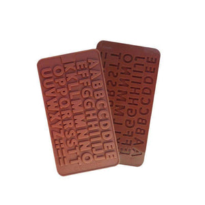 Chocolate Letters of the Alphabet Shape Chocolate Decorating Mold Chocolate Mold-Kitchen Utensils and Gadgets-Shop Here Pravalia
