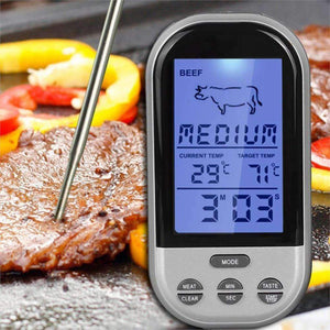 Digital Wireless Meat Thermometer for Kitchen Oven Cooking/BBQ Grill-Kitchen Utensils ans Gadgets-Shop Here Pravalia
