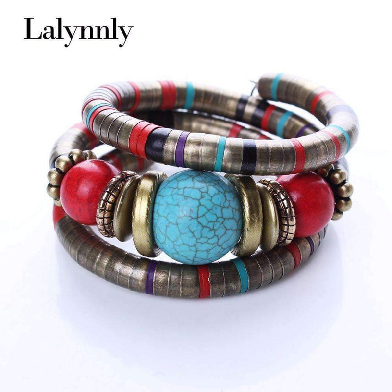 punk item jiayiqi leather bracelet stainless men black buckle jewelry fashion braided steel bangles magnetic geunine
