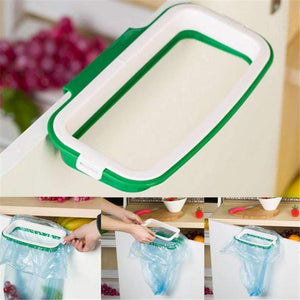 Hanging Kitchen Cupboard Cabinet Tailgate Stand Storage Garbage Bags Rack #20-Kitchen Utensils and Gadgets-Shop Here Pravalia
