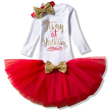 Fantasy 1 2 Year Birthday Baby Girl Dress Summer Girls Dots Clothes Kids Dresses For Girl Party Outfits 3pcs Clothing-Shop Here Pravalia