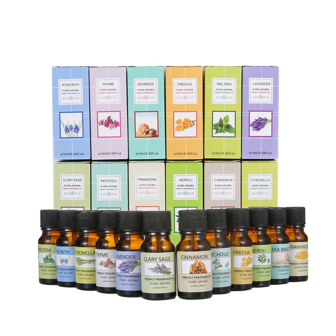 Pure Aroma Freshly Fragrance Oil 10 ML Essential Oil Pure Natural Aromatherapy Oils Fragrance-Shop Here Pravalia