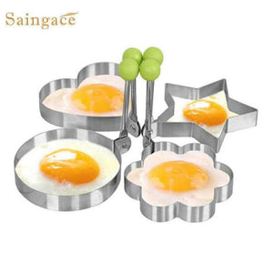 Stainless Steel Fried Egg Shaper Egg Pancake Ring Mold Kitchen Cooking Tools Stainless Steel-Kitchen Utensils and Gadgets-Shop Here Pravalia