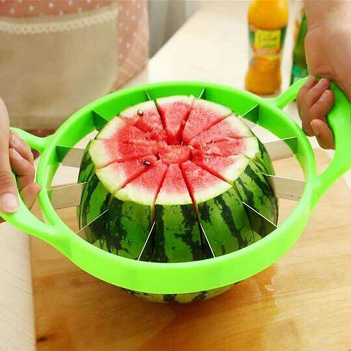 Watermelon Melon Slicer Stainless Steel Fruit Cutter Home Kitchen Convenient Divider Tools-Kitchen Utensils ans Gadgets-Shop Here Pravalia