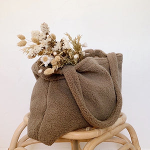 TEDDY MUM BAG | BROWN