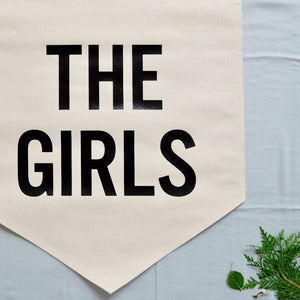 ●50%OFF● WALL BANNER THE GIRLS (ONLY 1 LEFT)