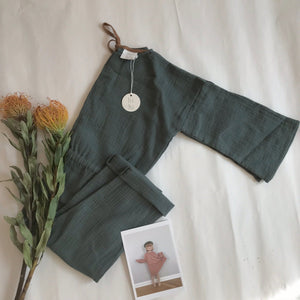 ●45%OFF● LIILU LOOSE FIT OVERALL GREEN (Only 1 left)
