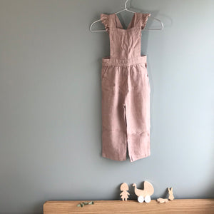 ●60%OFF● FLOUNCED OVERALL SOFT CHERRY (LAST ONE!)